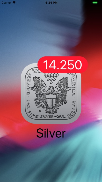 Silver - Live Badge Price