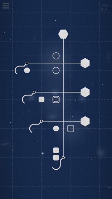 SiNKR: A minimalist puzzle screenshot 1