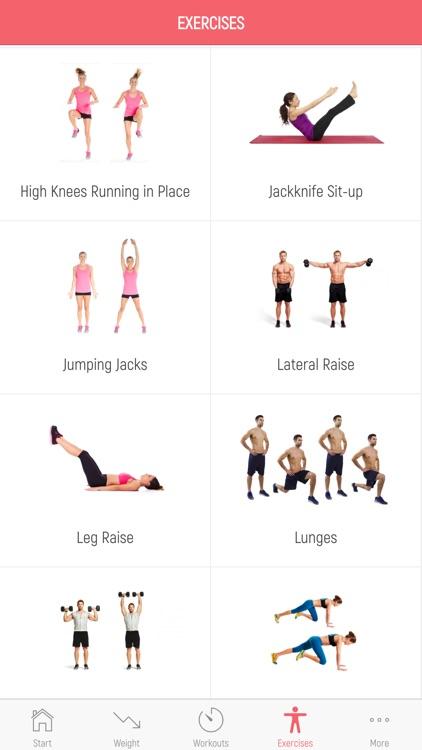 7 Minute Weight Loss Workout screenshot-4