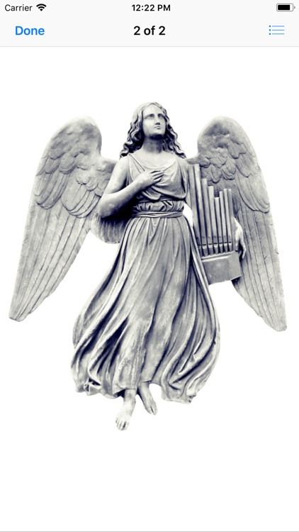 Angel Statue Stickers screenshot-3