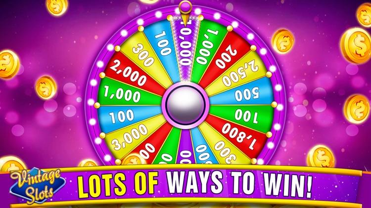 Vintage Slots Las Vegas Games screenshot-4