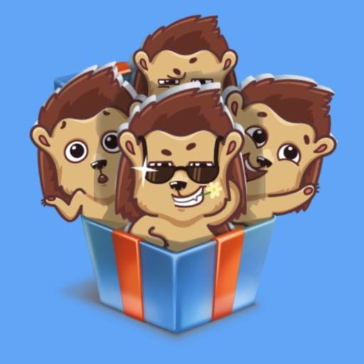 Hedgehog STiK Sticker Pack
