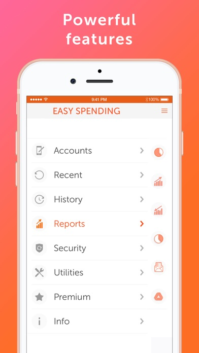 Easy Spending Expense Tracker review screenshots