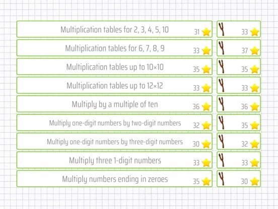 Multiplication 3rd Grade App Price Drops
