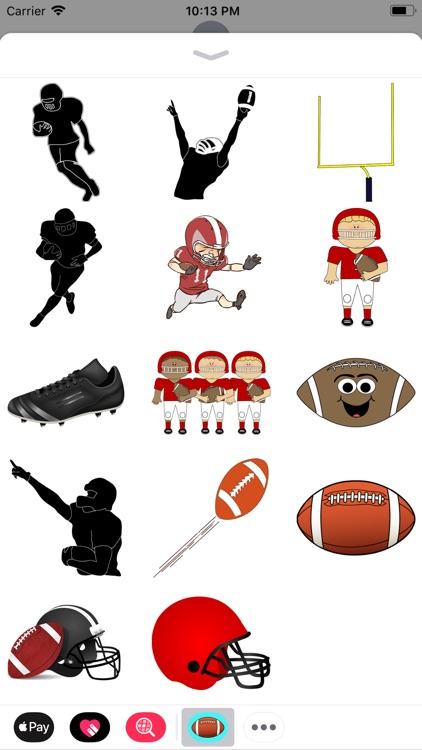 American Football Stickers!