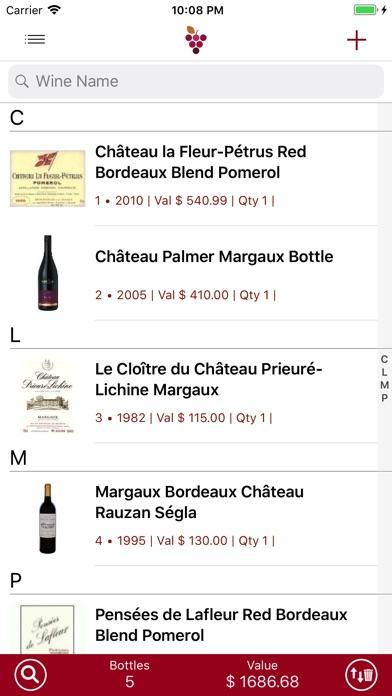 Wine Cellar Database Скриншоты3