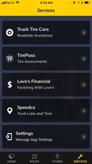 iphone screenshots - Loves Fuel Card
