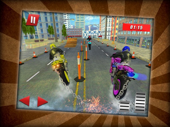 Bike Race Chained Stunts screenshot #2