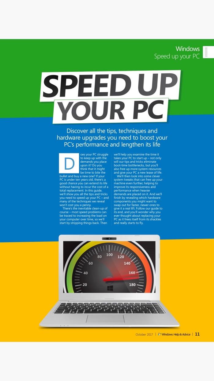 Windows Help & Advice: the magazine for PC users Screenshot