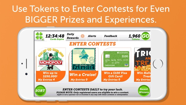 Scratch and win real prizes free