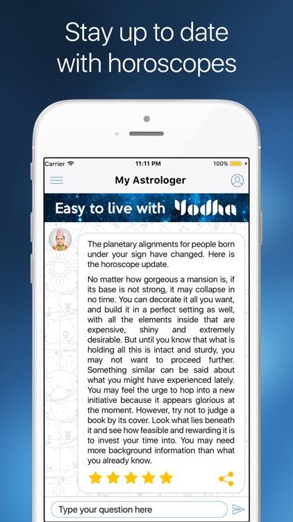Yodha My Horoscope screenshot-3