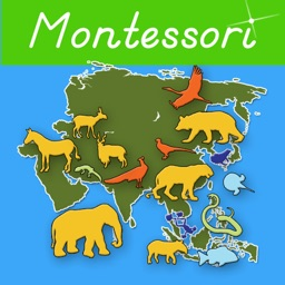 Animals of Asia - Montessori Geography For Kids