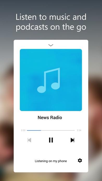 Cortana Screenshot on iOS
