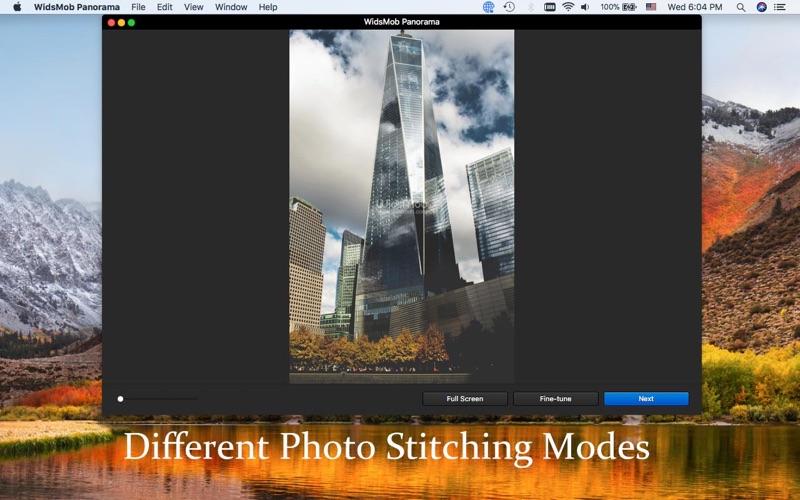 WidsMob Panorama-Photo Stitch screenshot 2