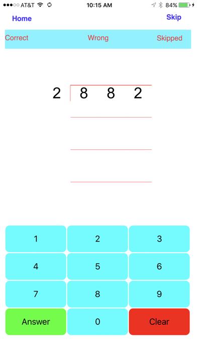Division - 1, 2, 3, 4 digit Divisionsのおすすめ画像3