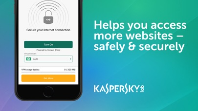 Kaspersky Security Cloud Screenshot on iOS