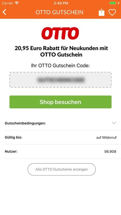 Gutscheine.de App screenshot-3