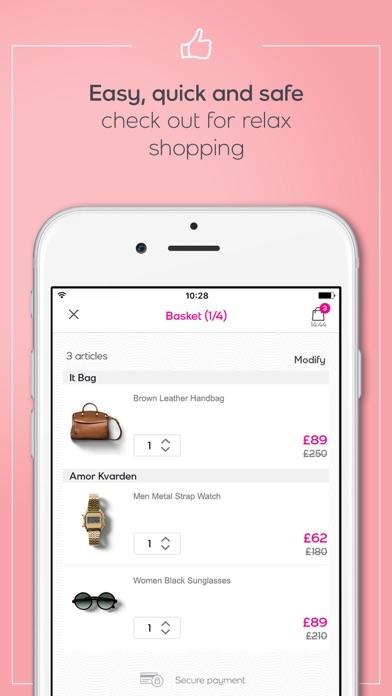 vente privee app report on mobile action. Black Bedroom Furniture Sets. Home Design Ideas