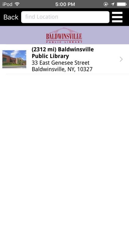 Baldwinsville Public Library screenshot-3