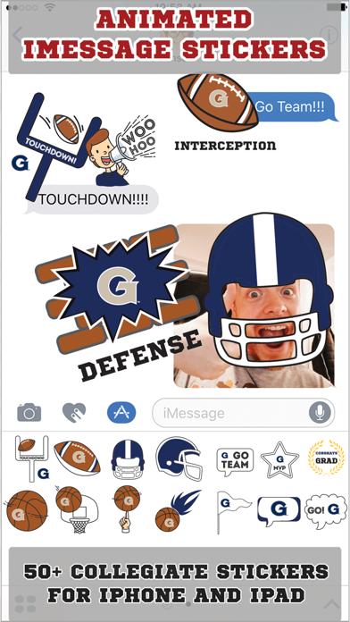 Georgetown Hoyas Animated+Stickers