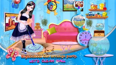Screenshot of House Cleanup and Decoration App