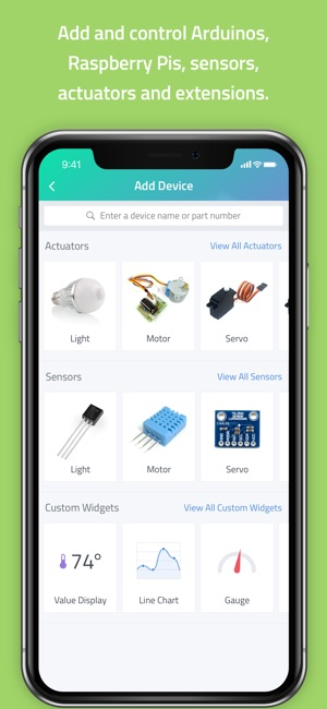 Cayenne - IoT Project Builder on the App Store