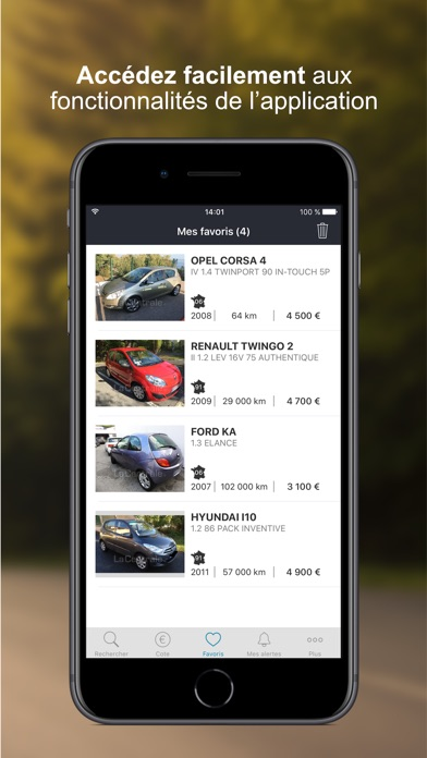 download La Centrale - voiture occasion apps 0