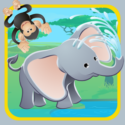 Africa Safari Animal-s Kid-s Learn-ing Game-s For Toddler-s with Colour-ing Book-s and Story-s