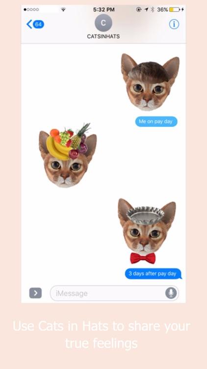 Cats in Hats Emoji Keyboard