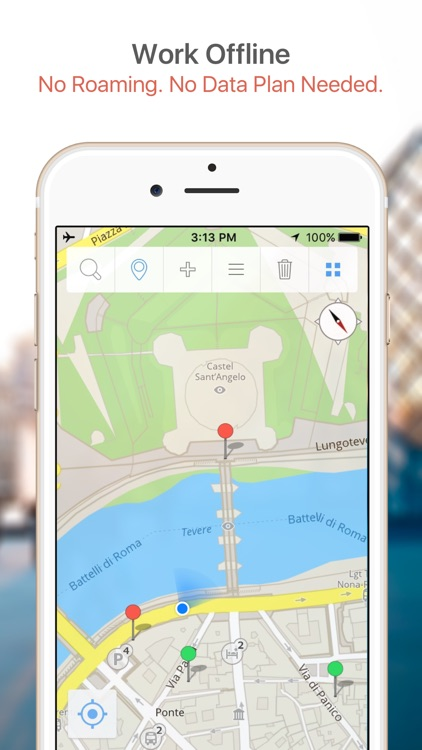Istanbul Map & Walks (F) screenshot-1