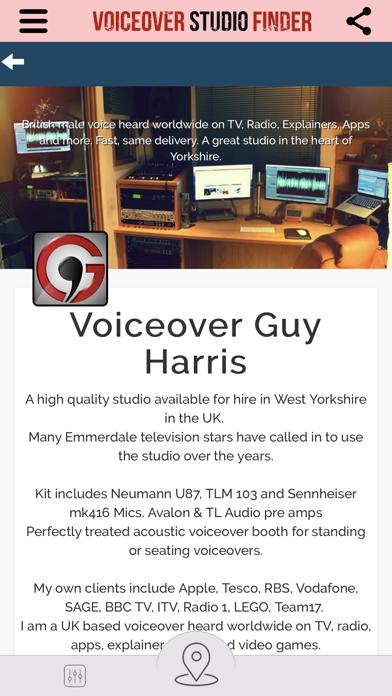 Voiceover Studio Finder screenshot three