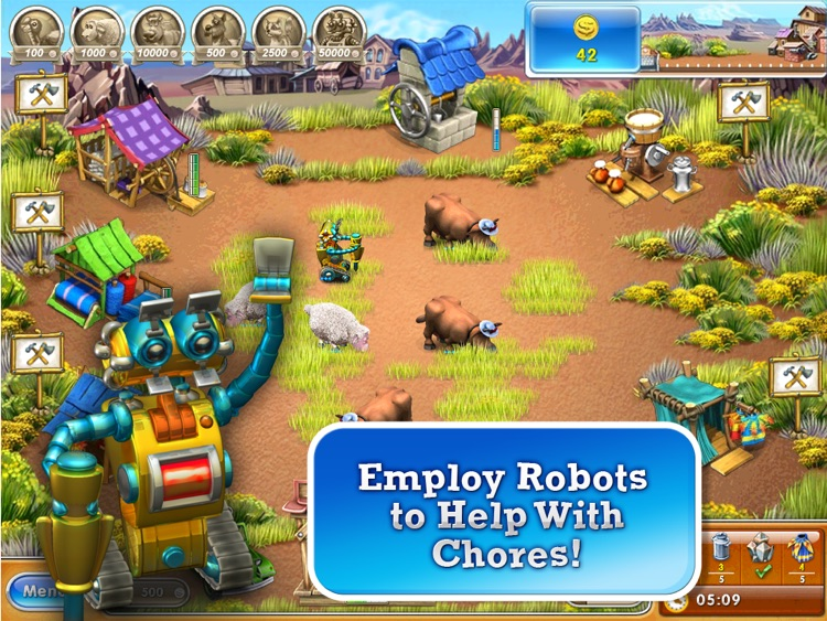 Farm Frenzy 3 American Pie HD screenshot-3