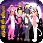 dress up animal crew halloween icon