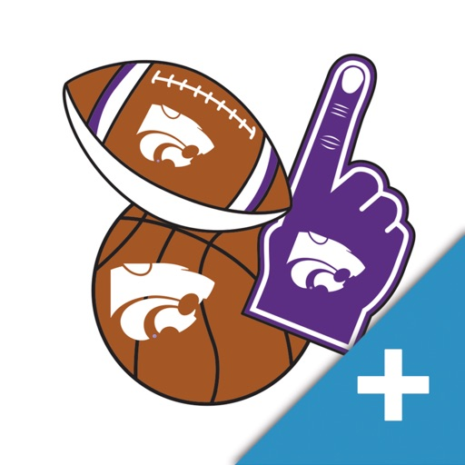 Kansas State Wildcats PLUS Selfie Stickers