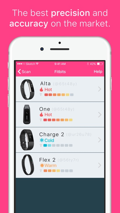 fitbit app for iphone 4 find my fitbit free iphone amp app market 1384