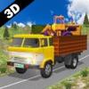 Heavy Loaded Trucker Parking