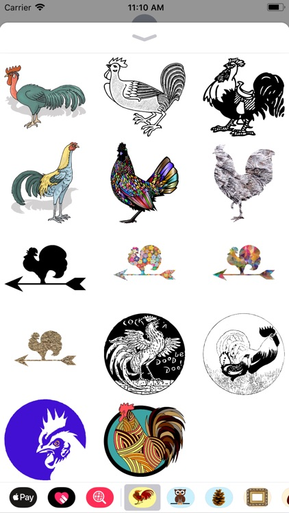 Raucous Rooster Stickers screenshot-4