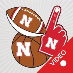 Nebraska Cornhuskers Animated Selfie Stickers