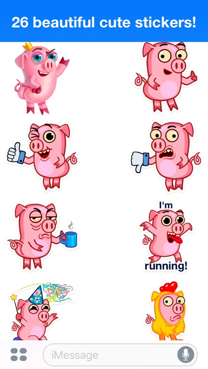 Pig Willie - Cute stickers