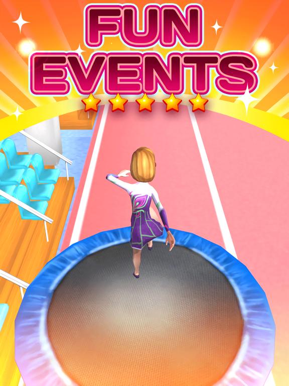 Screenshots of American Gymnastics Girly Girl Game - All Fun Little Teenage Kids Gym Games For Free for iPad