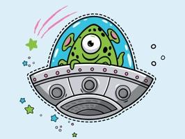 Aliens Stickers!