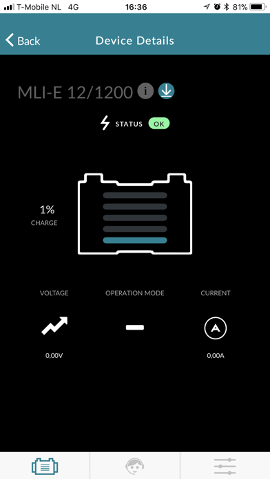 Screen Shot Mastervolt Battery Monitor 2
