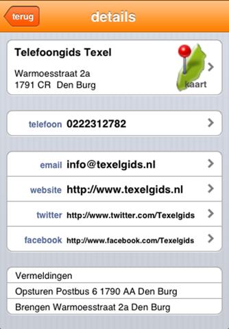 Texelgids - náhled