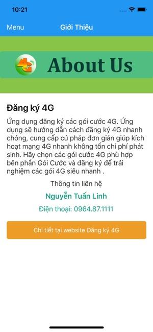 Đăng ký 4G