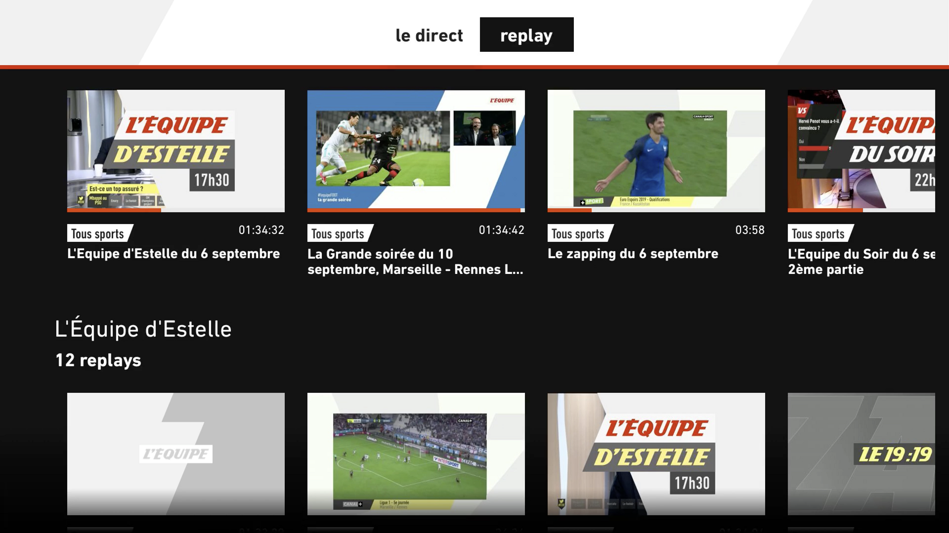 L'EQUIPE, sports en direct screenshot 18