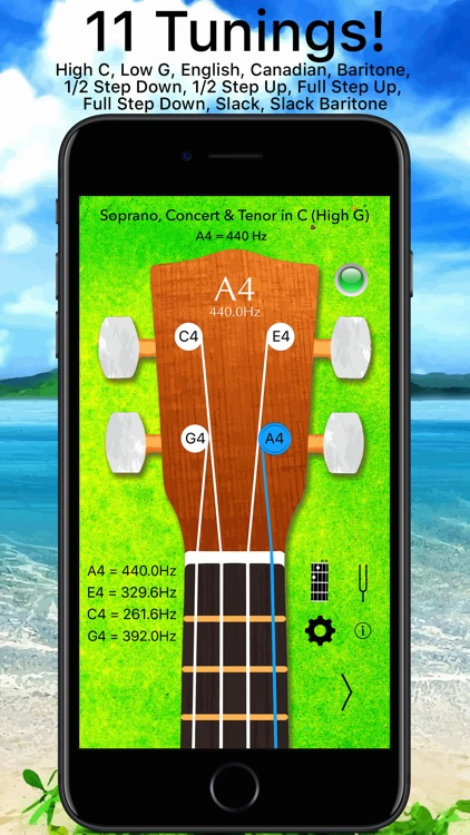 Ukulele Tuner Pro Advanced screenshot-0