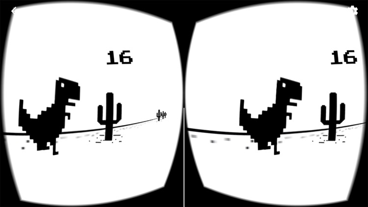 T-Rex Chrome VR Jump