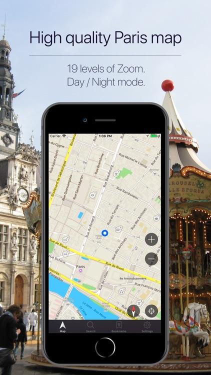 Paris Offline Navigation