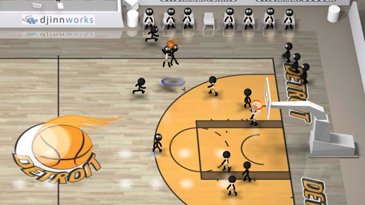 Stickman Basketball screenshot-3