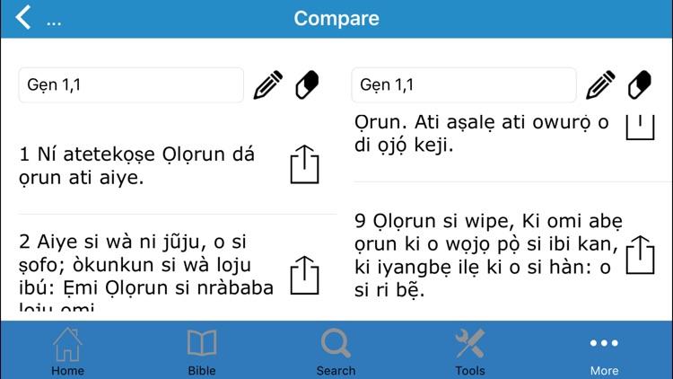 Bibeli Mimọ (The Bible in Yoruba)